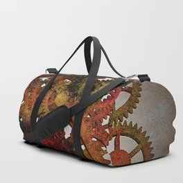 Industrial Rust Duffle Bag