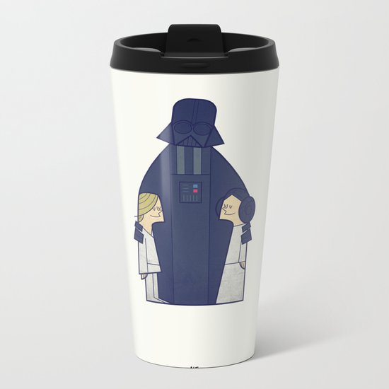 May the Love be with you Metal Travel Mug