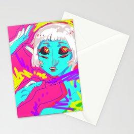 Alien in Love Stationery Cards