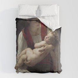 "William-Adolphe Bouguereau ""Berceuse (Le coucher)"" Comforters"