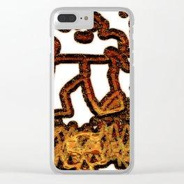 L huile sur le feu #TATEMONO Clear iPhone Case
