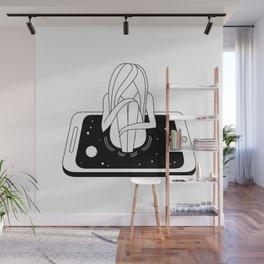Internet Addiction Wall Mural