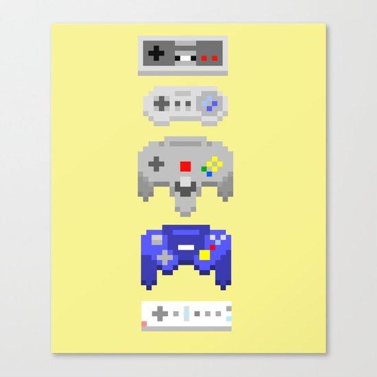 Nintendo Canvas Print