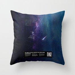 Augmented Reality - Satellite Throw Pillow