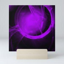 Ultra-violet gateway to a distant place Mini Art Print