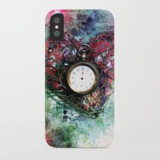 Heart of Time Slim Case iPhone X