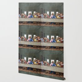 The Last Supper by Leonardo da Vinci Wallpaper