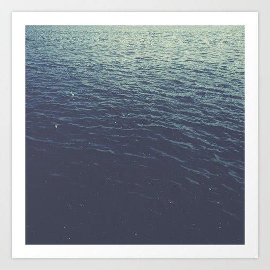 On the Sea Art Print