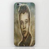 elvis presley iPhone & iPod Skins featuring Elvis Presley by Dan99