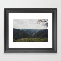 middle earth 2  Framed Art Print