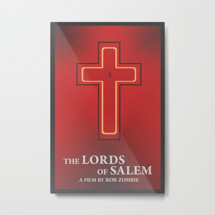 Lords of Salem minimalist movie poster Metal Print
