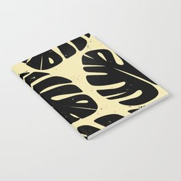 Monstera Leaf Print 2 Notebook