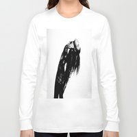 charli xcx Long Sleeve T-shirts featuring So Far Away ~ Charli XCX by Michelle Rosario