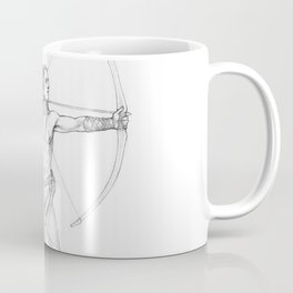 Archery Practice Coffee Mug