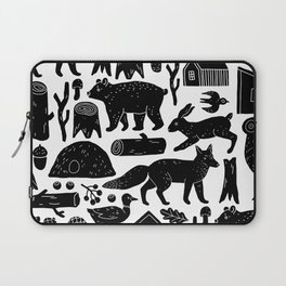 Forest Critters Laptop Sleeve