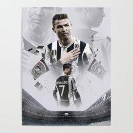 Cristiano Ronaldo juve Poster