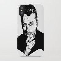 sam smith iPhone & iPod Cases featuring Sam Smith by Giorgia Ruggeri