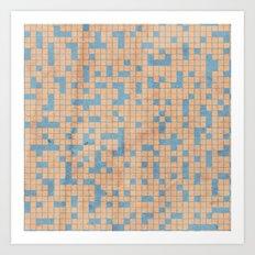 antidote pattern Art Print