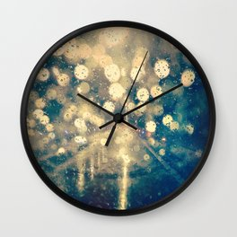 Under the rain Wall Clock