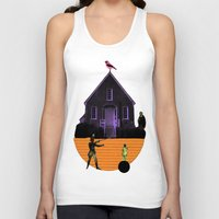 house Tank Tops featuring HOUSE by MAR AMADOR