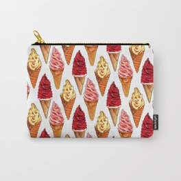 Ice Cream Pattern - Soft Serve Carry-All Pouch