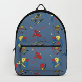 Child's Play Chucky Inspired Pattern Backpack