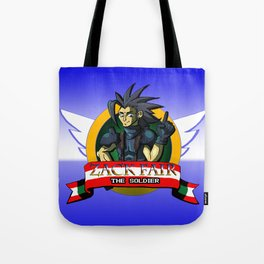Zack Fair the Soldier  Tote Bag