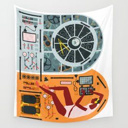 Navigation Control Room Wall Tapestry