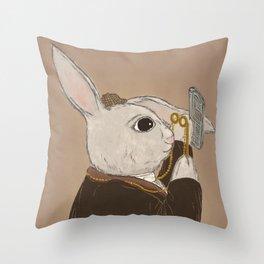 Fake Lop 2 Throw Pillow