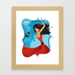 The Dancer Framed Art Print