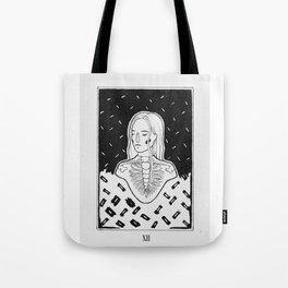 SKELETON GIRL Tote Bag