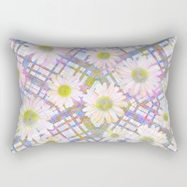 Daisy Plaid Rectangular Pillow