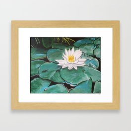 Lily of the Water Framed Art Print