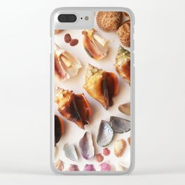 Cockles & Conch Clear iPhone Case
