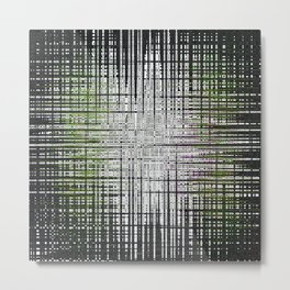 noir abstrait Metal Print