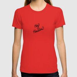 Hey Houdini   [black] T-shirt