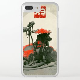 Red Hunter Clear iPhone Case