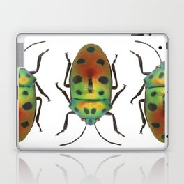Green and Red Beetle Laptop & iPad Skin