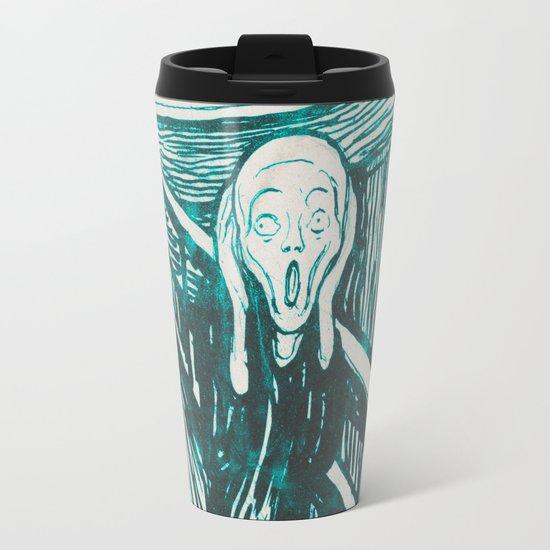 The Scream's Haze (light blue) Travel Mug