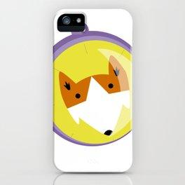Compass fox iPhone Case