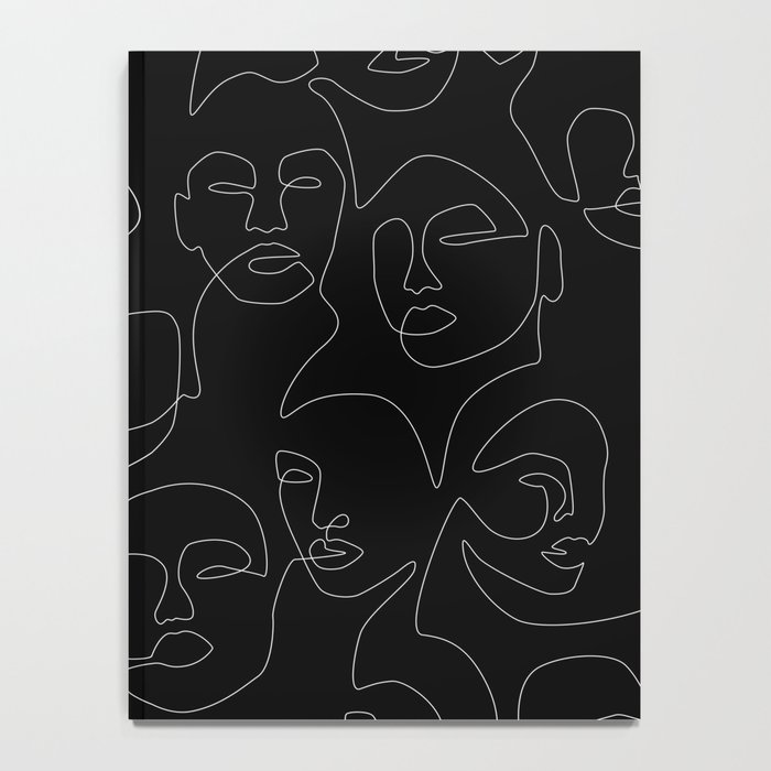 Face Lace Notebook