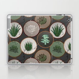 Succulent Embroidery Hoops Laptop & iPad Skin