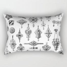 Jewels and Trinkets Rectangular Pillow