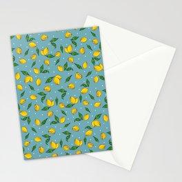 Lemony Stationery Cards