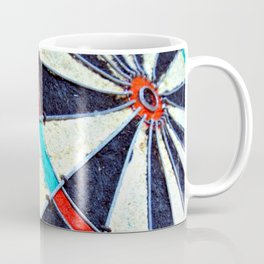 Dartboard Coffee Mug