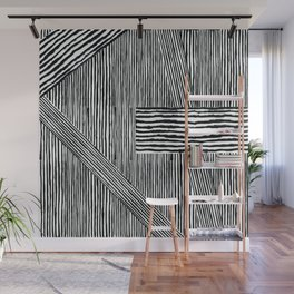 LS Stripes Wall Mural