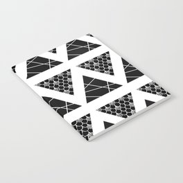 Split Diamonds Zentangle Notebook