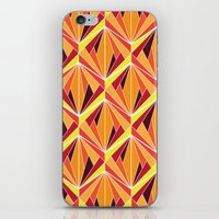 mosaic iPhone & iPod Skins featuring mosaic by kartalpaf