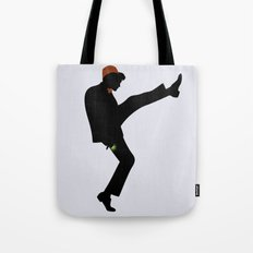The 11th Doctor of Silly Walks Tote Bag