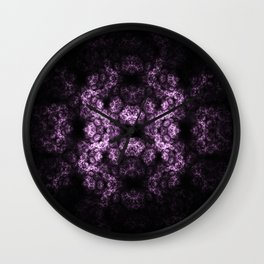 Symmetrical fractal Wall Clock